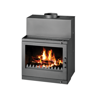 Built-in Fireplace With Integral Boiler Tropic B