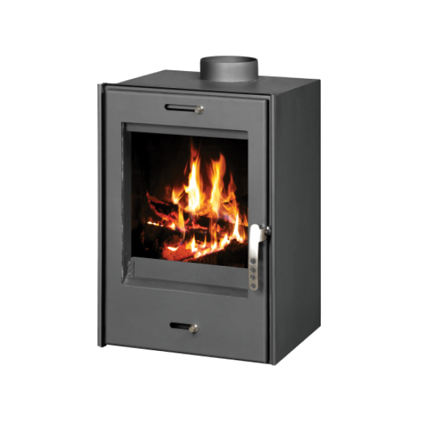 Built-in Fireplace With Integral Boiler Verona B