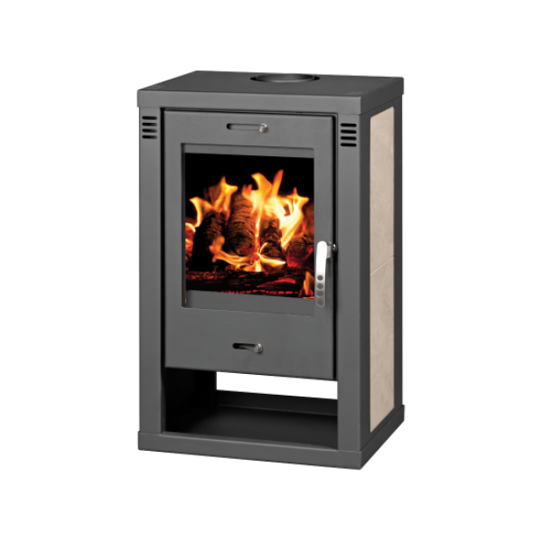 Wood Burning Stove With Integral Boiler Verona KB