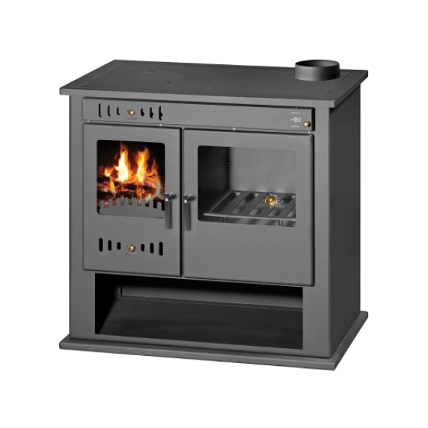 Wood Burning Cooking Stove With Oven And Integral Boiler Victoria BO
