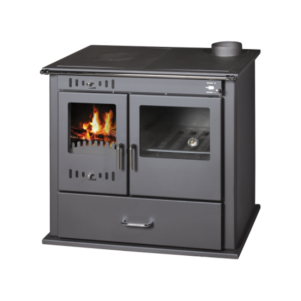 Wood Burning Cooking Stove With Oven Victoria Lux