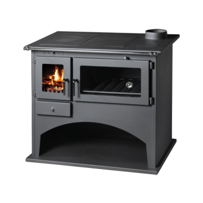 Wood Burning Cooking Stove With Oven And Integral Boiler Viki B-25